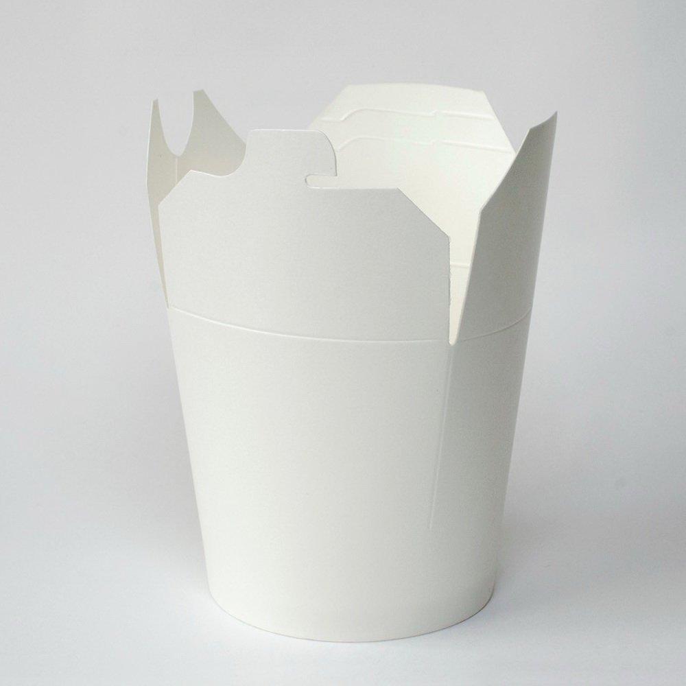 Коробка для лапши (контейнер) China-Pack 750мл, белая, 500 шт