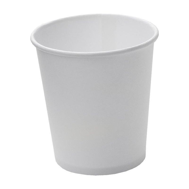 Стакан для холодного и горячего, 0.1л, белый, картон, 2520 шт