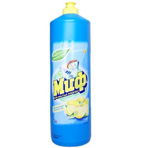 """Средство д/мытья посуды """"МИФ Лимонная свежесть"""", 1 л."""