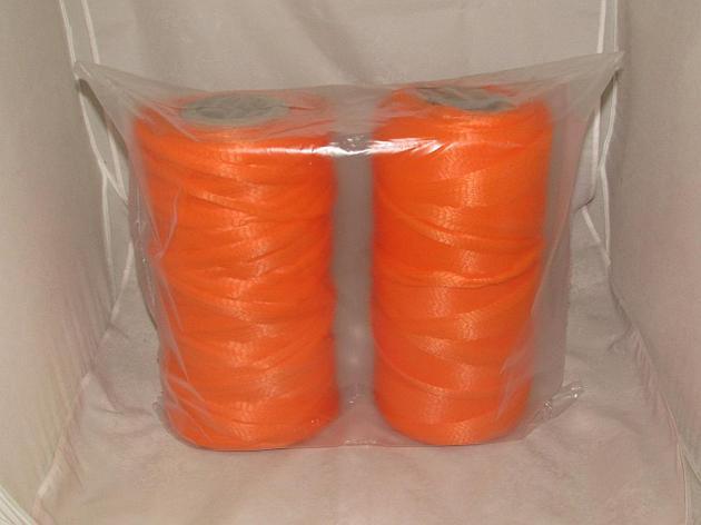 Сетка-рукав в рулоне (500м) оранжевая П/П, фото 2