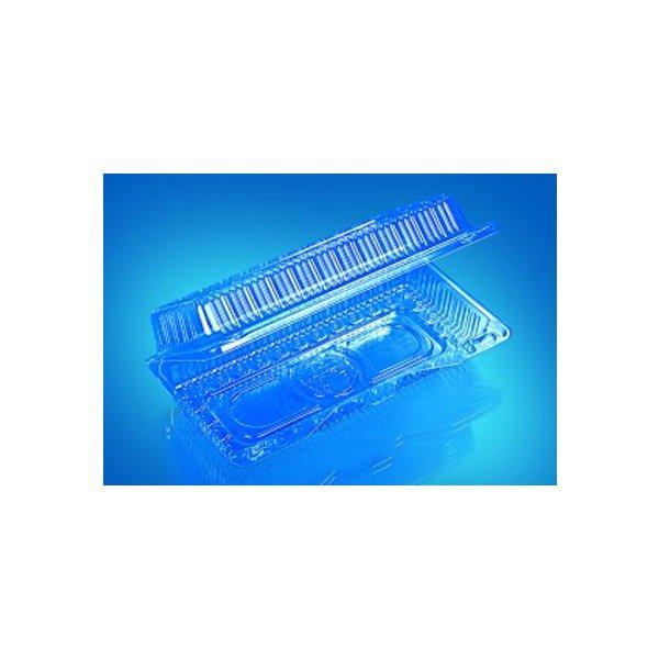 Упаковка прям. внеш. 210х110х55мм, внутр.190x85x45мм, прозрачная, ОПС, 350 шт