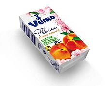 """Носовые платки 3 сл., Veiro аром. """"Цветы персика"""", бум., 10 шт"""