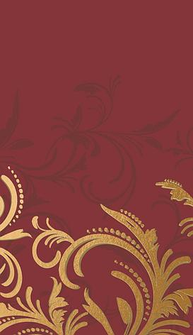 "Скатерть 138х220см, DUNICEL, ""Grace Bordeaux"", бордо, Бумага, фото 2"