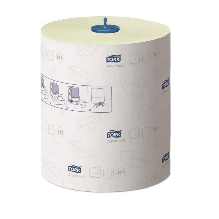 Полотенца в рулонах Tork Matic® Advanced, Н1, зелён., 2 сл, 150м х 21см, 600 л