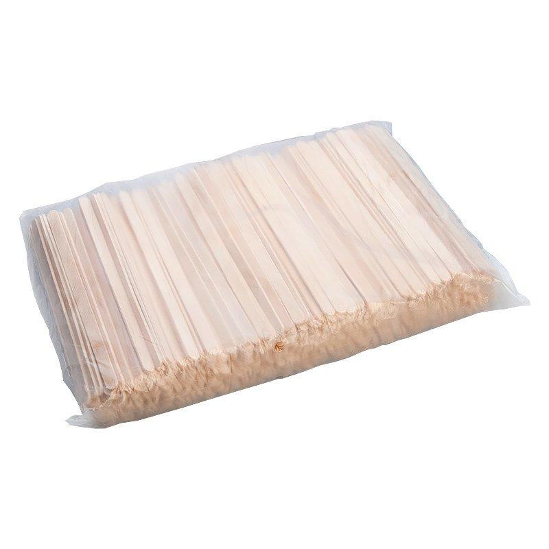 Размешиватели деревян. прямые, 140*6*1,8 мм, 500 шт