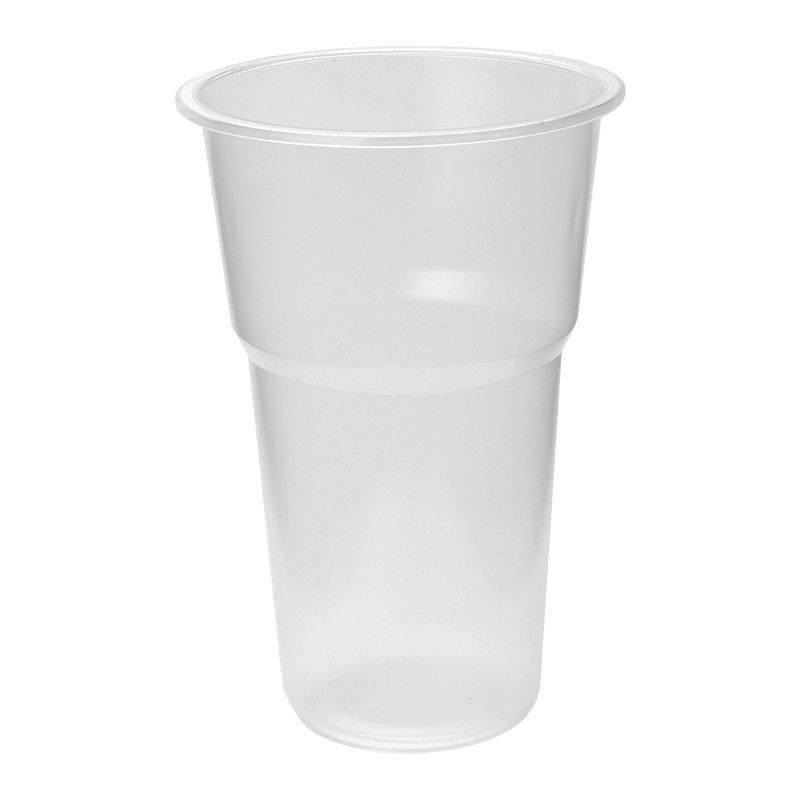 Стакан для холодных напитков, 0.5л, полупрозрачный, 50 шт