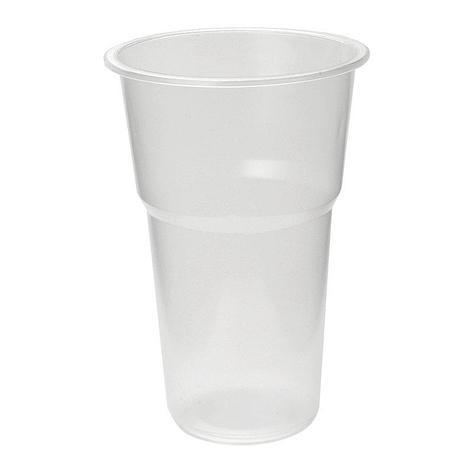 Стакан для холодных напитков, 0.5л, полупрозрачный, 50 шт, фото 2