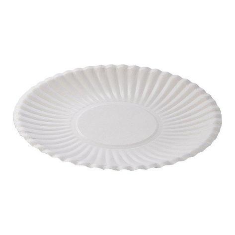 Тарелка d 170мм, толщ. 0.40мм, бел., ламин., картон, 1000 шт, фото 2