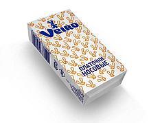Носовые платки 3 сл., Veiro, бел., бум., 10 шт