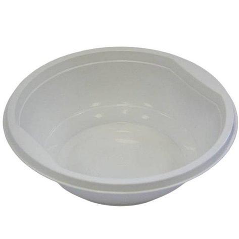 Тарелка глубокая  0.475л, бел., ПП, 12 шт, фото 2