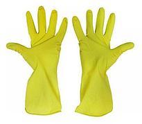 Перчатки  хозяйственные латексные, размер L