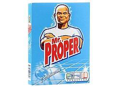 """Моющий порошок """"Mr. PROPER"""" с отбеливателем, 0,400 кг."""