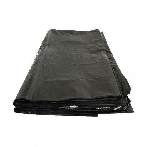 Мешок д/мусора 240л (100х140см) 55мкм черный ПВД, 50 шт