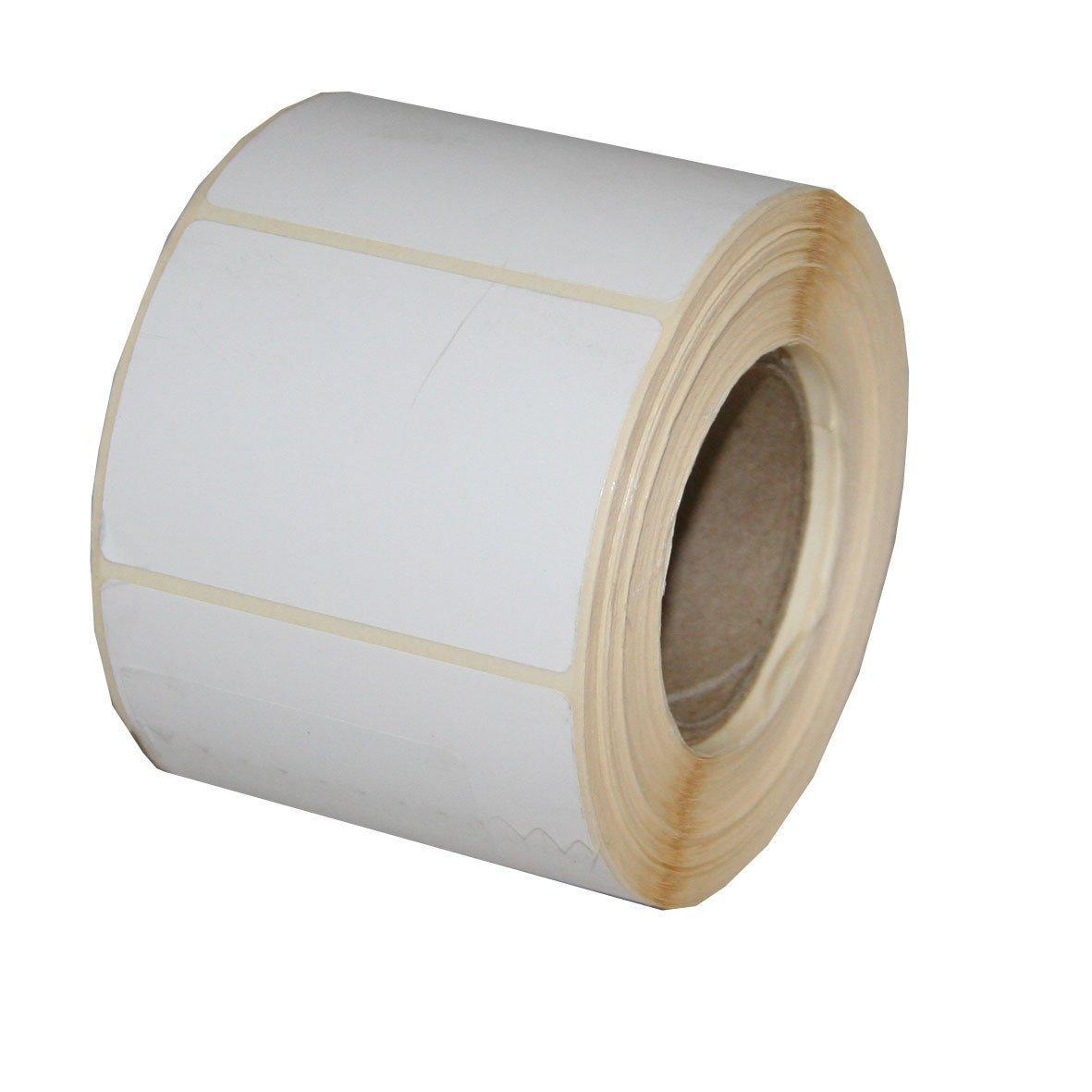 Весовая лента 58х40 мм, ЭКО В белая термо бумага, (непринт)