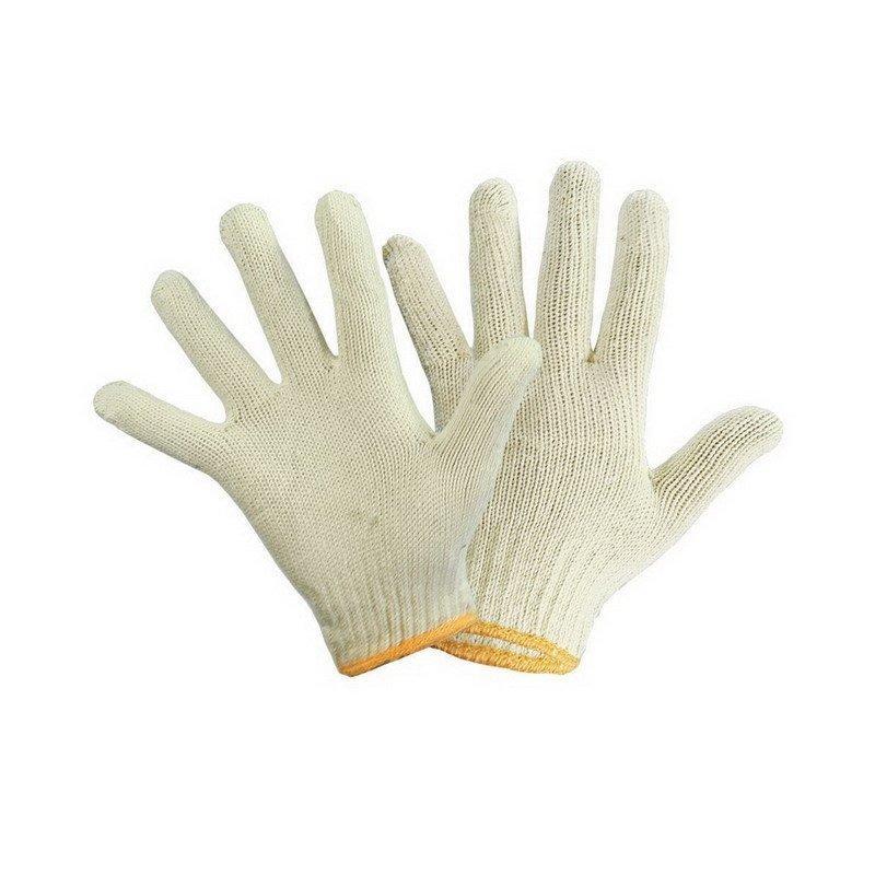 Перчатки нитяные х/б, 4х нитка, 10 кл.