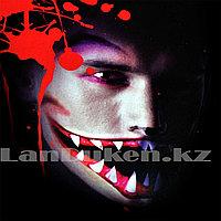Временная татуировка на Хэллоуин в виде рта M-09