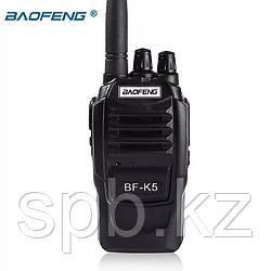 Baofeng BF-K5 - стильная и мощная (5W), профессиональная радиостанция