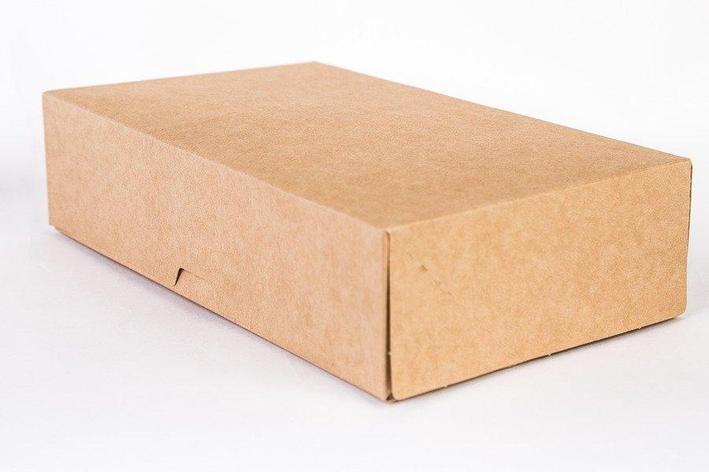 """Коробка """"DoEco"""" 120х85х50мм ECO TABOX NEW 500, коричн., 600 шт, фото 2"""