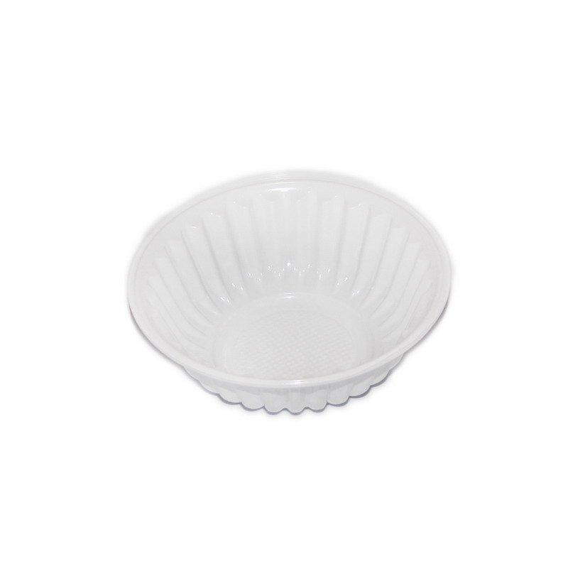 Салатник 150мл, кругл., бел., ПЭТ, 4000 шт