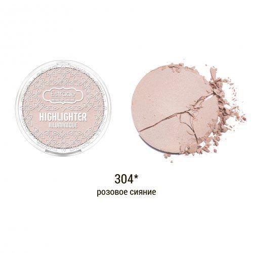 Хайлайтер ESTRADE Illuminique тон 304 розовое сияние