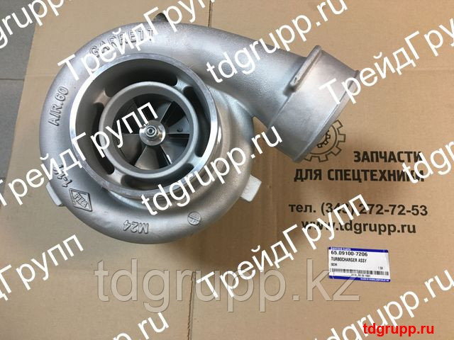 65.09100-7206 Турбокомпрессор Doosan Daewoo P126TI