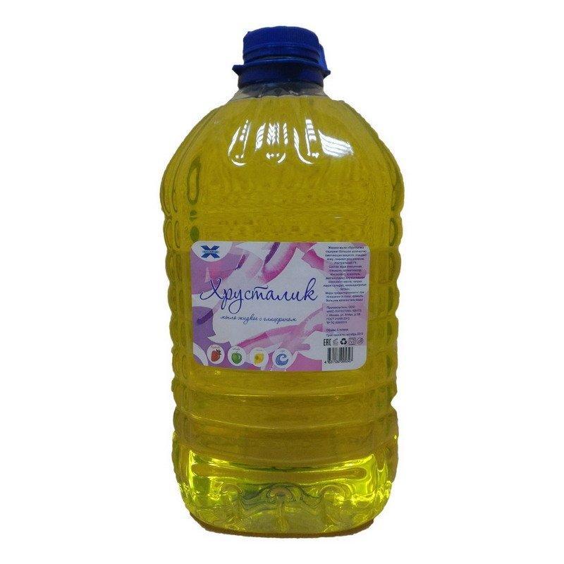 """Мыло жидкое """"Хрусталик"""" 5л, аром. лимон, прозрачн. ПЭТ"""