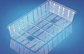 Упаковка коррекс, прямоуг., внеш. 128х226х45мм, внутр. 108х207х43мм, прозрачн., ОПС, 1200 шт