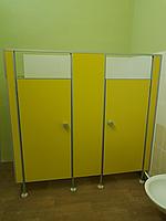 Детские туалетные перегородки из ЛДСП 16 мм