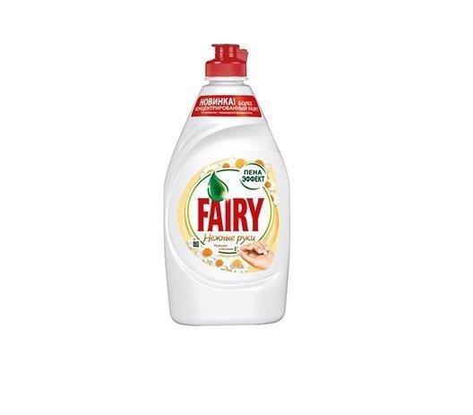 """Средство д/мытья посуды """"FAIRY НЕЖНЫЕ РУКИ РОМАШКА + витамин Е"""" 450 мл."""