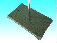 Штатив с квадратной плитой (чугун), m=2.7 кг, 300х180мм