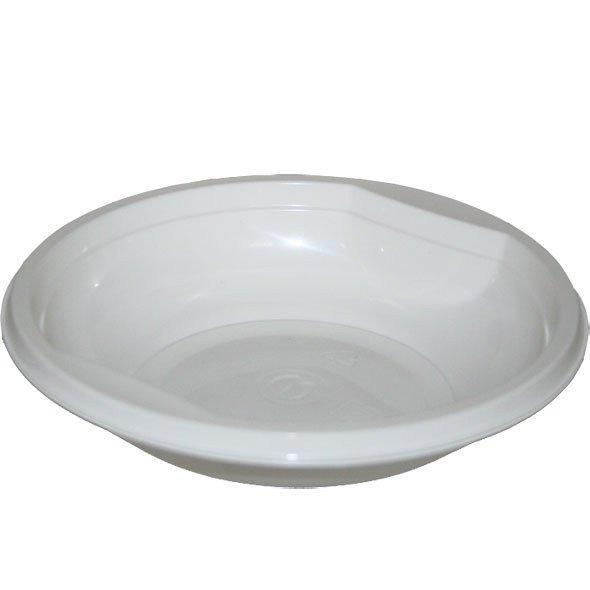Тарелка глубокая 0.35л, бел., ПП (САЛАТНИК), 50 шт