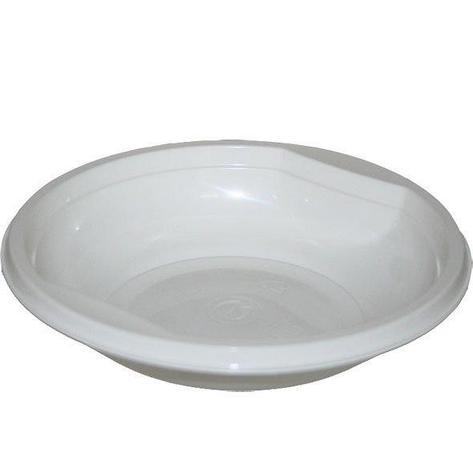 Тарелка глубокая 0.35л, бел., ПП (САЛАТНИК), 50 шт, фото 2