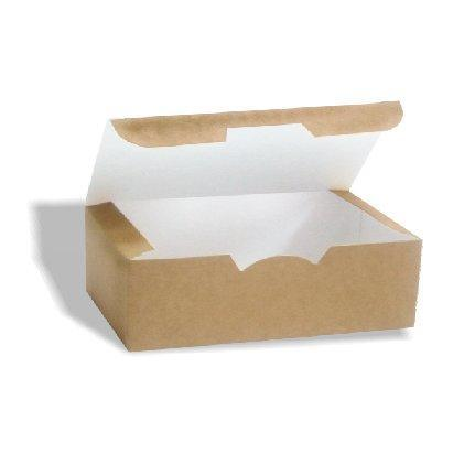 Коробка на вынос 115х75х45 мм крафт без печати, 400 шт, фото 2