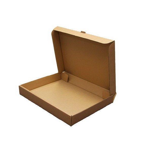 Коробка д/пиццы, 330х330х40мм, бурая, микрогофрокартон., 50 шт