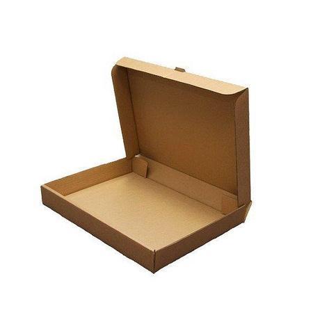 Коробка д/пиццы, 330х330х40мм, бурая, микрогофрокартон., 50 шт, фото 2