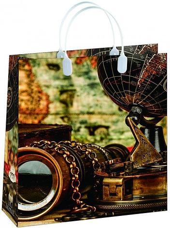 Пакет подарочный (230x260 мм) мягкий пластик BAS 104, 20 шт, фото 2