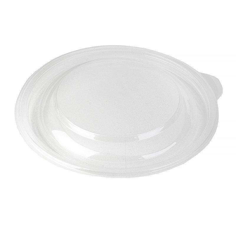 Крышка круглая d-144мм, h-17мм, прозрачн, ПП, 300 шт