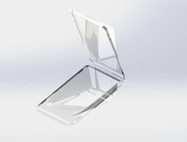 Упаковка д/роллов, 0.4л, прямоуг.,160х115х48мм, прозрачн., ПЭТ, 500 шт, фото 2