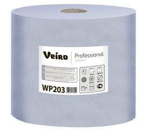 """Протирочный материал 175м, 500лист/рул, 2 сл., """"Veiro Professional Comfort"""", син.  , 2 шт"""