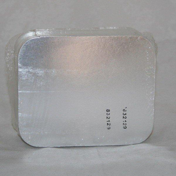 Крышка к алюминиевой форме 140x115мм, картон/алюминий, 2040 шт