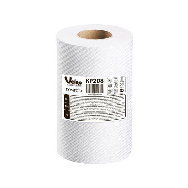 Полотенца бумажные в рулонах с центральной вытяжкой Veiro Professional Comfort, двухсл., 100 м, 2 шт