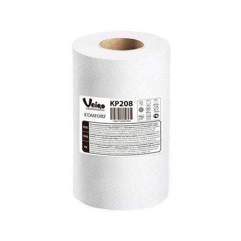 Полотенца бумажные в рулонах с центральной вытяжкой Veiro Professional Comfort, двухсл., 100 м, 2 шт, фото 2