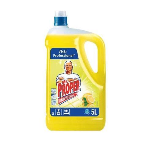 """Профессиональное средство для мытья """"Mr. PROPER Лимон Проф""""  5 л., фото 2"""
