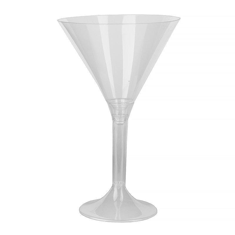 Фужер д/мартини, 0.16л, h 155мм,, (на высокой ножке), прозрачн., ПС, 100 шт