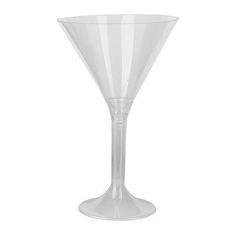 Фужер д/мартини, 0.16л, h 155мм,, (на высокой ножке), прозрачн., ПС, 100 шт, фото 2