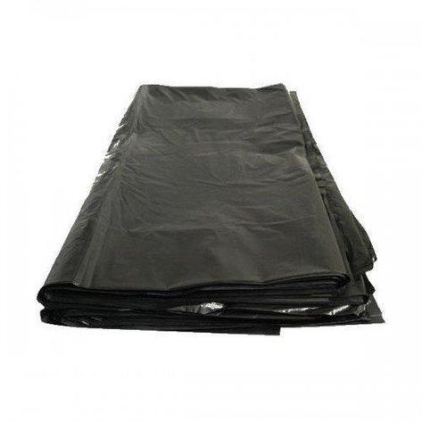 Мешок д/мусора 120л ПНД (70*110) 40 мкм черный, 50 шт, фото 2