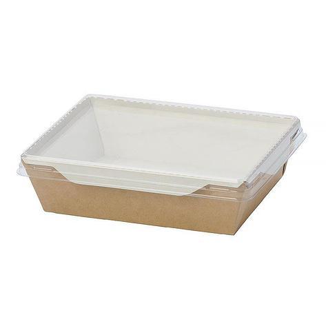 """Коробка """"DoEco"""" 145х95х45мм ECO OpSalad 400, (Салатник), коричн., 400 шт, фото 2"""