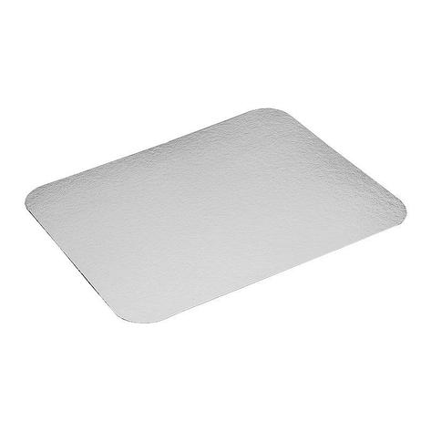 Крышка к алюминиевой форме 220x170мм, картон/алюминий, 400 шт, фото 2