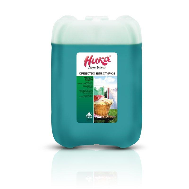 Средство моющее синтетическое для стирки Ника-Люкс Энзим 5 л