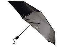 Складной зонт Cerruti 1881, черный, фото 1